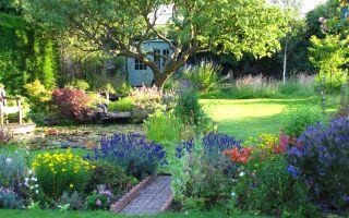 Сад в стиле кантри: простая красота