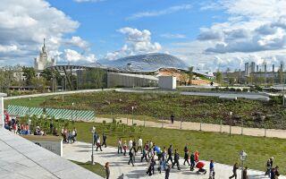 «Зарядье» — первый за 200 лет новый парк в центре Москвы