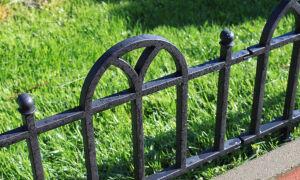 Ограждения для газонов и клумб: просто и красиво