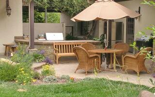 Патио в ландшафтном дизайне