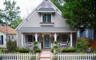 Ландшафтный дизайн перед домом: для себя и для гостей