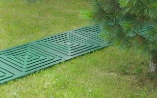 Садовые дорожки из пластика