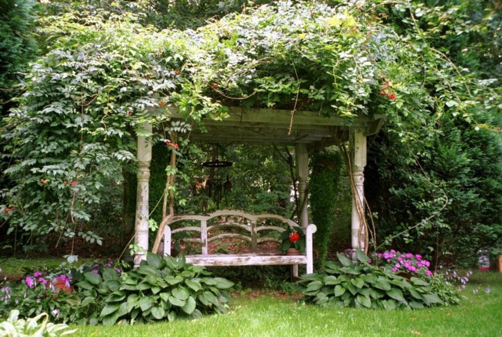 Сад в сельском стиле