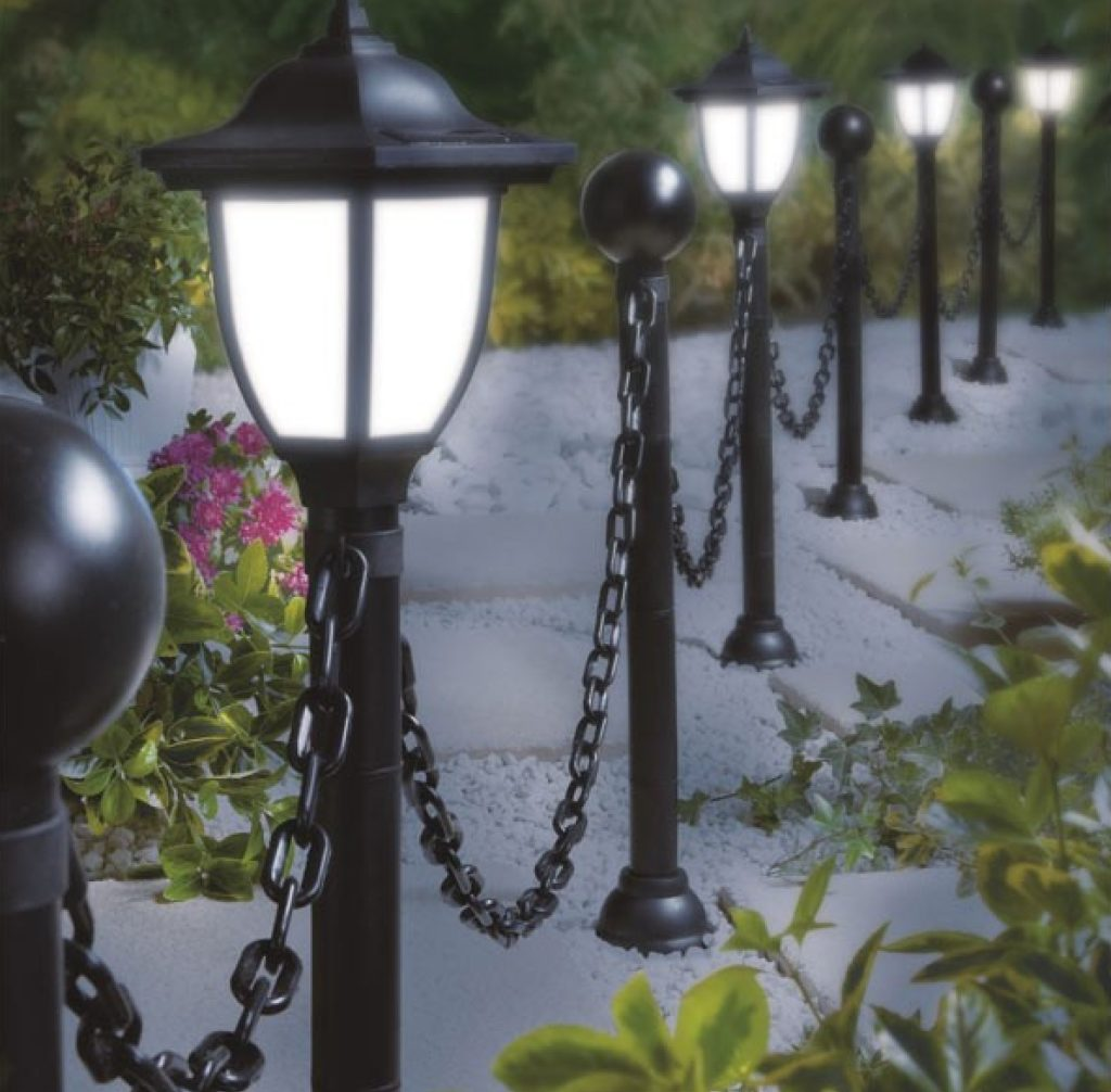 Фонари для сада в английском стиле