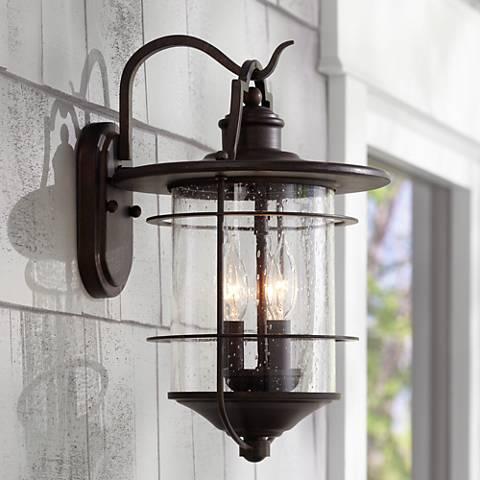 """Уличные фонари для дачи, стилизованные """"под старину"""""""