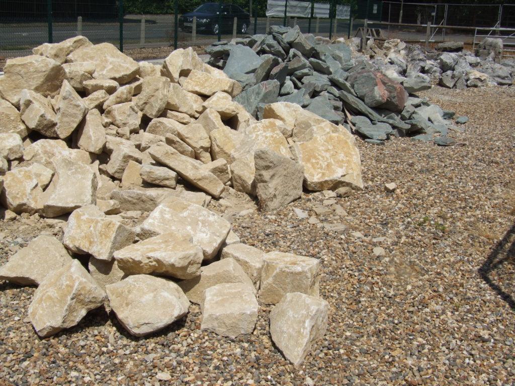Камни для создания альпийской горки