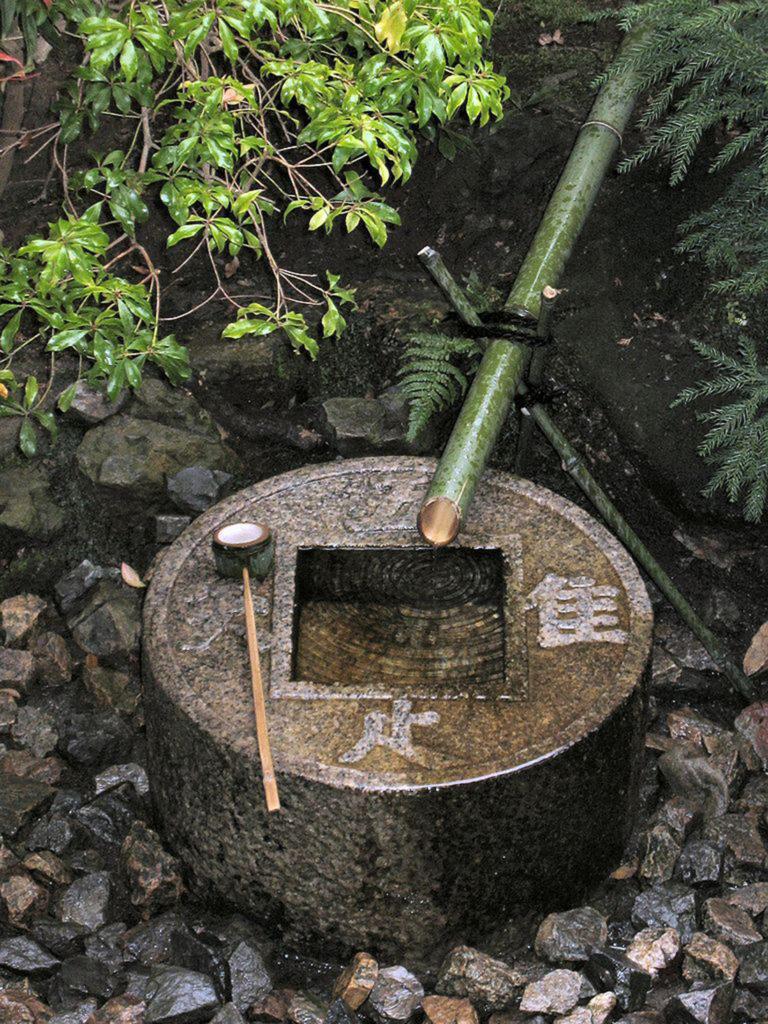 Цукабаи - сосуд для омовения