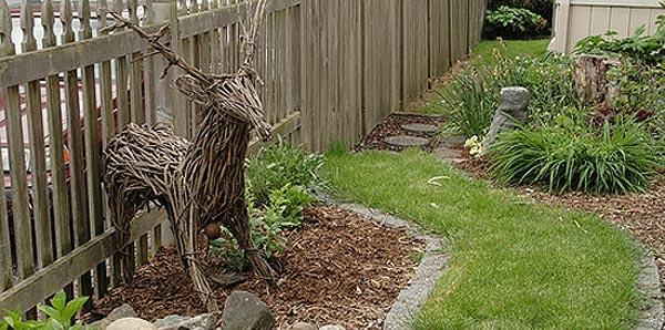Плетеный олень