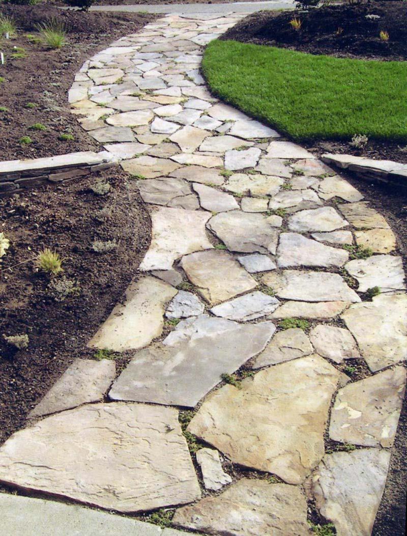 Садовые дорожки своими руками с малыми затратами из бетона фото 735