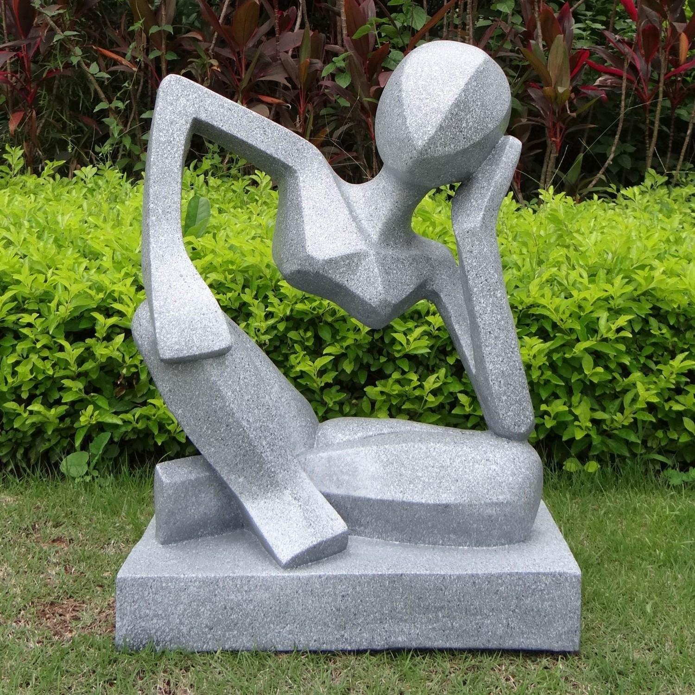 Скульптура в саду своими руками из бетона фото 619