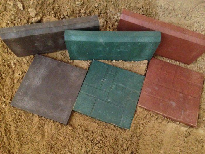 Полимерно-песчаная плитка