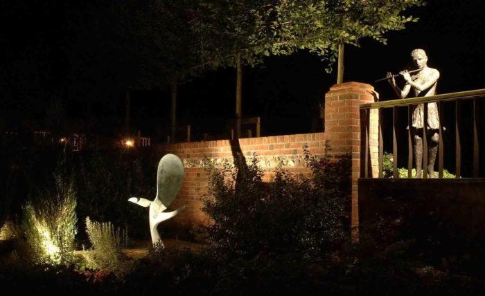 Освещение скульптур